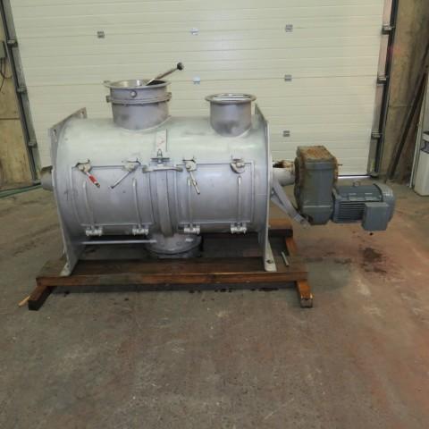 R6ML1393 Mélangeur LODIGE Inox - 600 litres avec 2 émotteurs