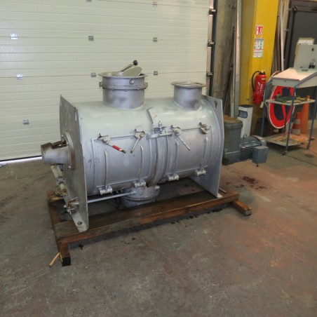 R6ML1393 Stainless steel LODIGE mixer - 600 liters with 2 choppers