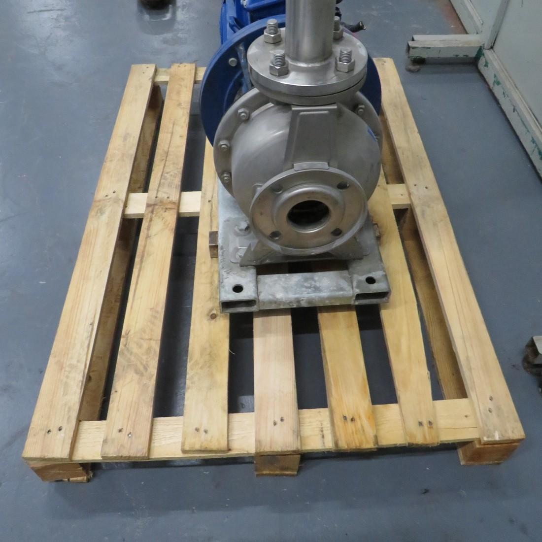 R10VA1282 Stainless steel HILGE centrifugal pump - Type DURACHROM 65-50-200 - Hp15