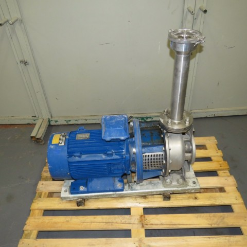 R10VA1282 Stainless steel HILGE centrifugal pump - Type DURACHROM 65-50-200 - Hp15