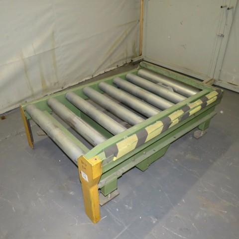 R4FC853 Mild steel motorized roller conveyor Ø90X840 mm