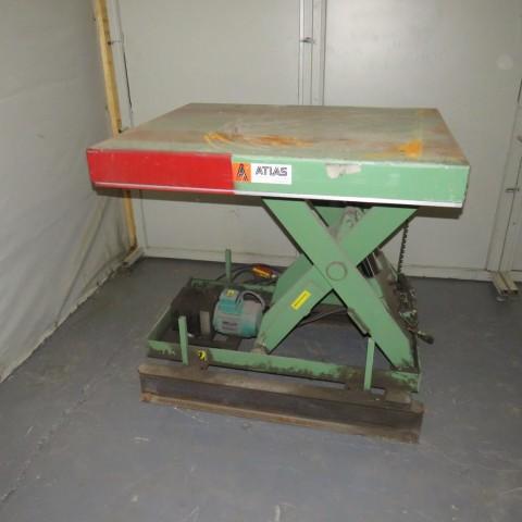 R4A783 Table élévatrice ATLAS - 2000kg - plâteau 1000X1200 mm