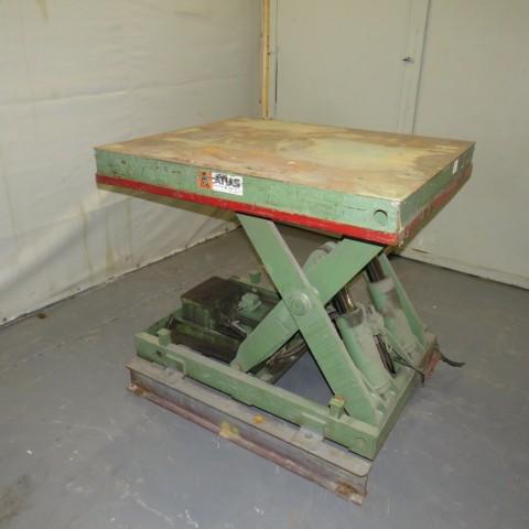 R4A784 Table élévatrice ATLAS - 2000 Kg - plâteau 1000X1200 mm