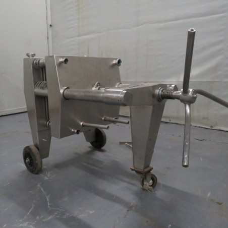 R6FPL51 Stainless steel  SEITZ-WERKE plates filter - 7 plates 400X400mm
