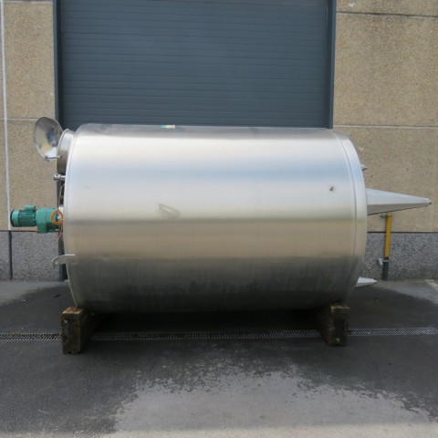 R6MA6162 Cuve mélangeuse PIERRE GUERIN Inox - 8500 litres