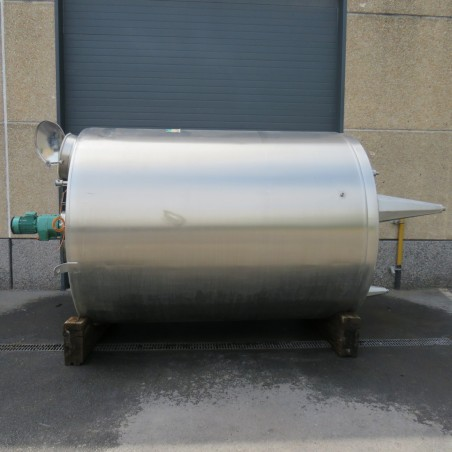 R6MA6162 Stainless steel  PIERRE GUERIN Mixing tank - 8500 liters