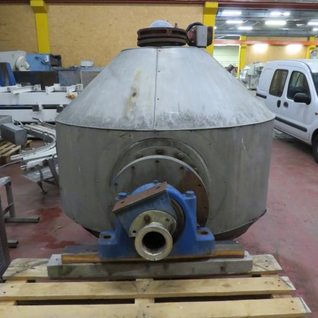 R1V1055 Stainless steel vacuum rotary DE DIETRICH dryer - Type SNCT - 1040 liters