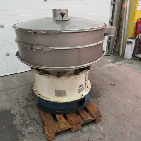 R6SA1137 Stainless steel SWECO Circular sieve - Type S48C - 1 stage Ø1200mm
