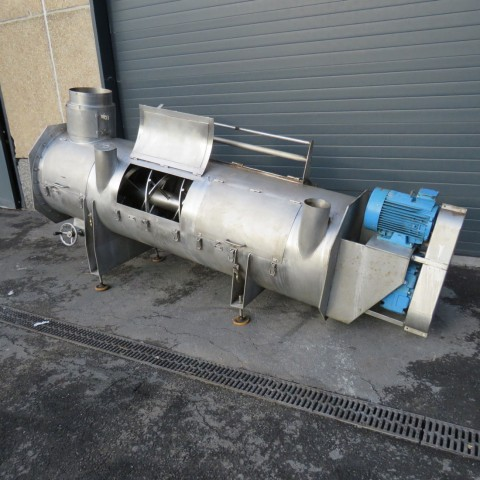 R6MK1414 Stainless steel CORNELOUP ribbon blender - 600 liters - Hp10
