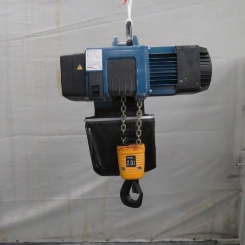 R4NC140 Palan à chaîne électrique DEMAG - 2000 kg