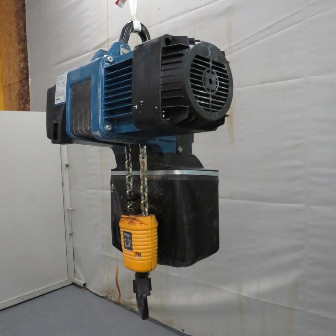 R4NC140 DEMAG electric chain hoist - 2000 kg