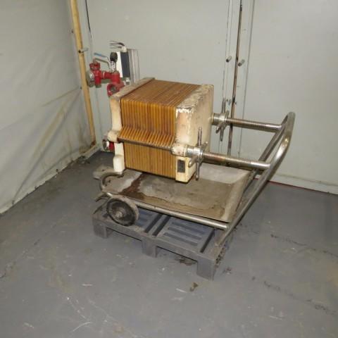 R6FP1002 Filtre presse - 20 plateaux 400X400mm