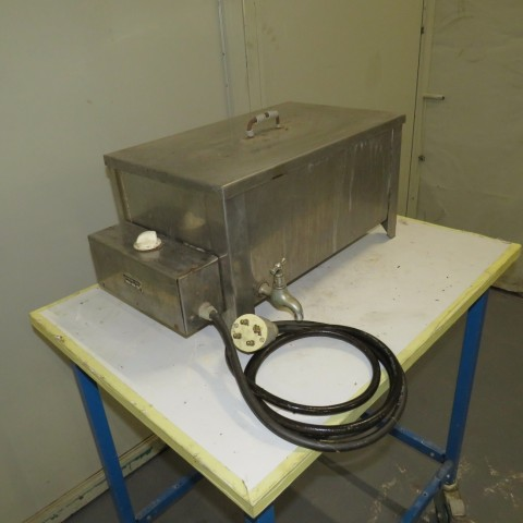 R1Z749 Bain Marie TOILECTRO-LECA Inox - 25 litres