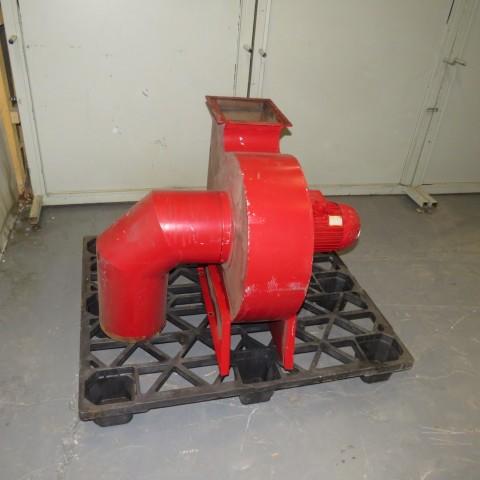 R1X1280 Mild steel centrifugal fan - Hp3 - Rpm3000