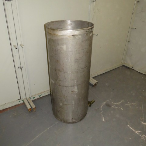 R11DB22706 Stainless steel vessel - 200 Liters