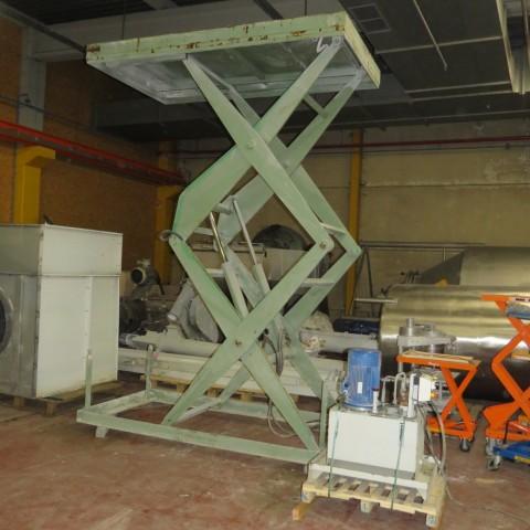 R4A785 Table élévatrice ALMA - 1700 Kg - plateau 1500X2700mm