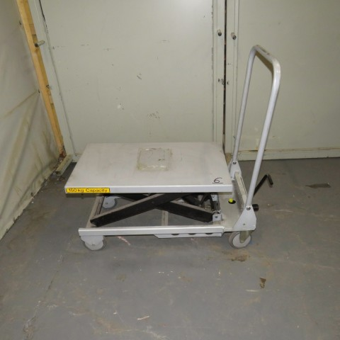 R4A789 ADUANCED manual lift table - 150 Kg - Plate 450X750mm