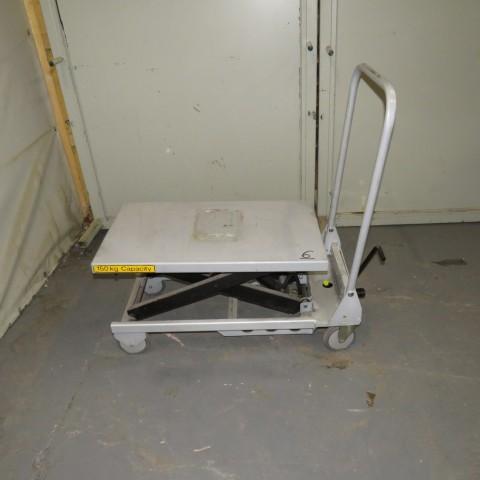 R4A789 Table élévatrice manuelle ADUANCED - 150 Kg - plateau 450X750mm