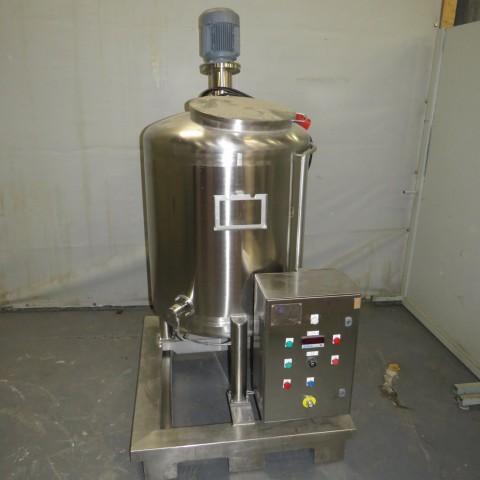 R6MA6163 Cuve mélangeuse Inox - 400 litres