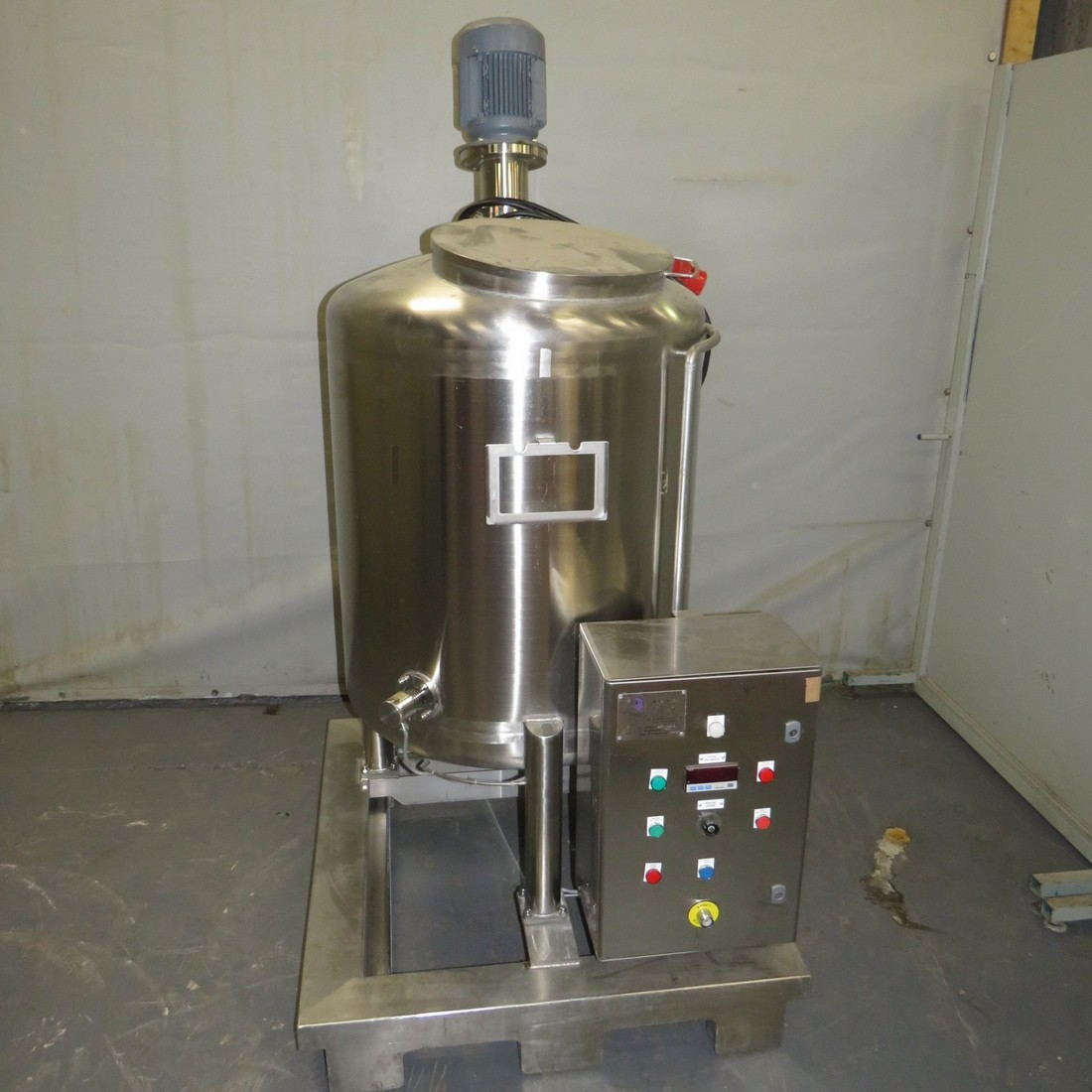 R6MA6163 Stainless steel Mixing tank - 400 liters