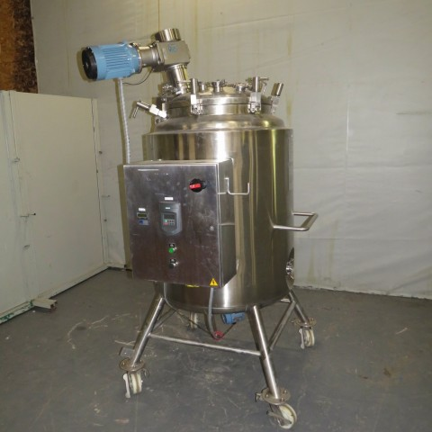 R6MA6165 Stainless steel JV-NORTHWEST mixing tank - 500 liters - Double jacket
