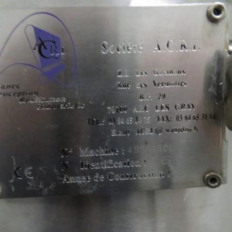 R11DB22708 Stainless steel ACRI vessel - 450 liters