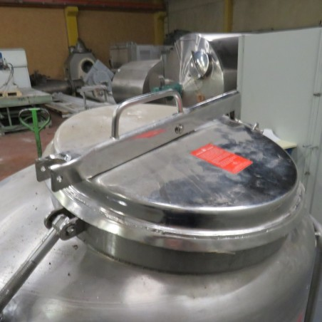 R11DB22708 Stainless steel ACRI vessel - 450 liters