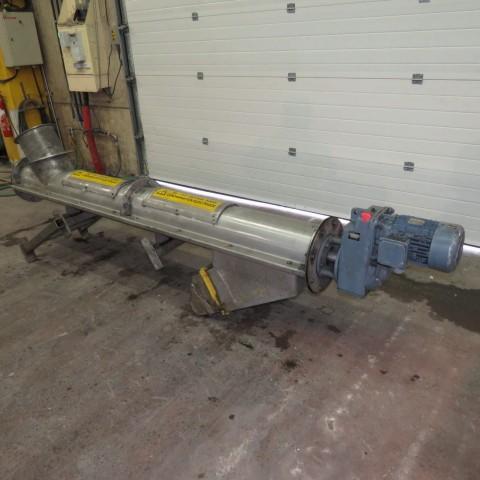 R4S1090 Vis Inox élévatrice sous tube - Ø250 mm - longueur 2500 mm