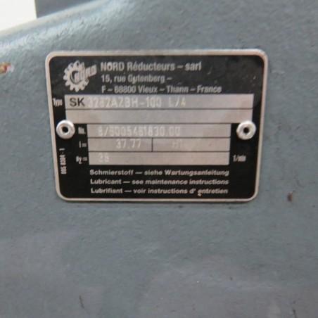 R4S1090 Stainless steel lifting screw under tube - Ø250 mm - length 2500 mm