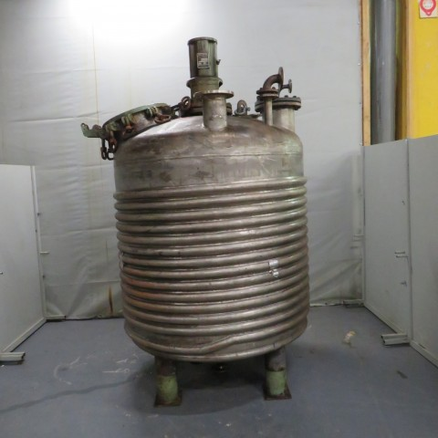 R14FA5344 Stainless steel WILHELMEBERT Reactor vessel - 3200 liters