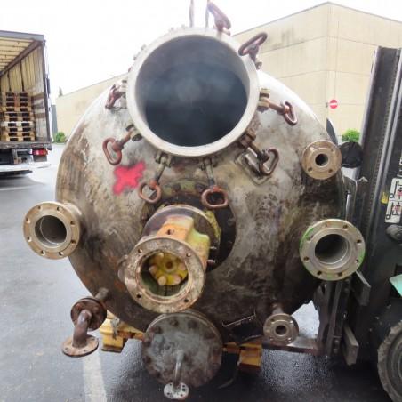 R14FA5343 Stainless steel WILHELMEBERT Reactor vessel - 3200 liters