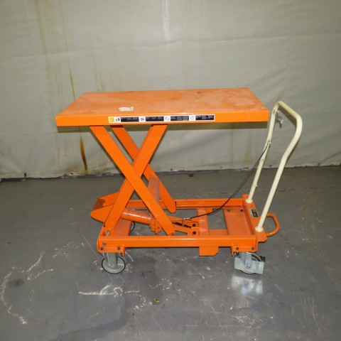 R4A792 BISHAMON manual lift table - 500Kg - 1000X500mm platform