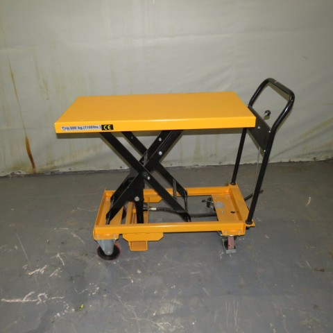 R4A793 GIANT-MOVE manual lift table - 500Kg - 1000X500mm platform