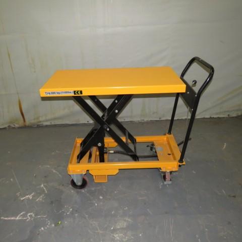 R4A793 Table élévatrice manuelle GIANT-MOVE - 500Kg - plateau 1000X500mm
