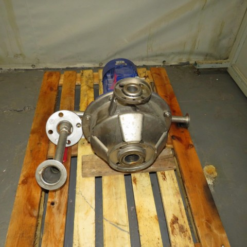 R10VA1283 Stainless steel KSB centrifugal pump - ETACHROM BC 025-250/114 Type - Hp1.5