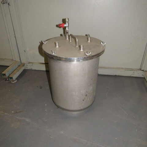 R11DB22710 Stainless steel vessel - 20 liters