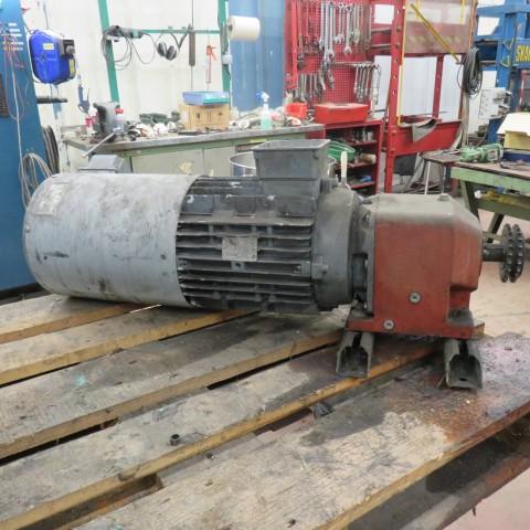 R12MC727 Motoréducteur frein NORD REDUCTEUR - 5.5Kw - 398t/min