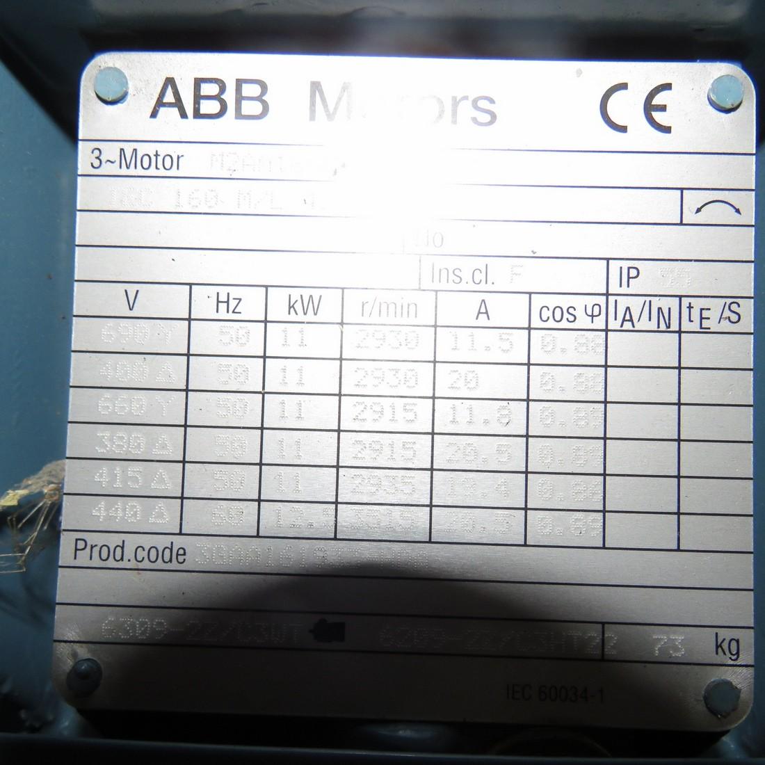 R10VA1285 Stainless steel ALFA LAVAL centrifugal pump - Hp15 - Rpm3000
