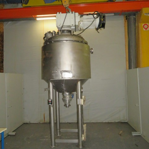 R6ME6389 HAAGEN and RINAU - UNIMIX mixer - 1200 liters - double jacket