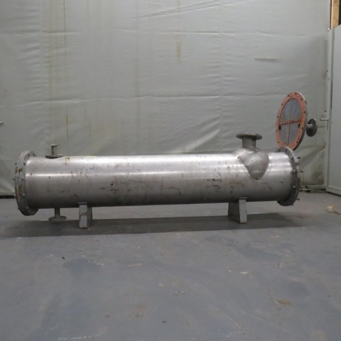 R1K1095 Tubular heat -11 m² - 108 tubes Ø17X2000mm