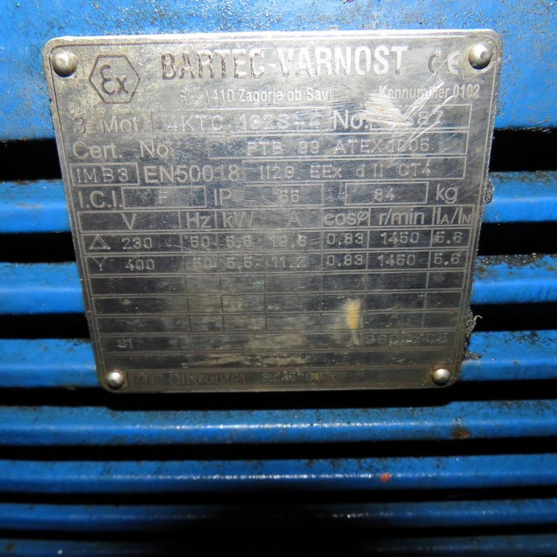 R10JA846 SPECK-PUMPEN Skid vacuum pump - Hp7.5 - Rpm1500