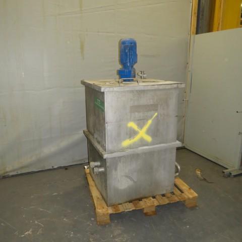 R6MA6169 Cuve mélangeuse Inox - 700 litres