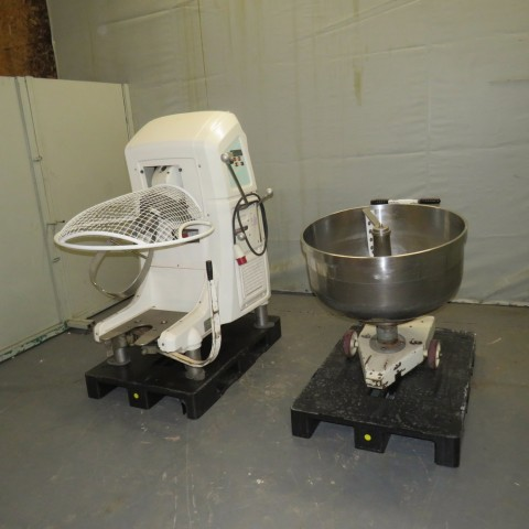 R6MP117 Stainless steel VMI planetary mixer - 170 liters