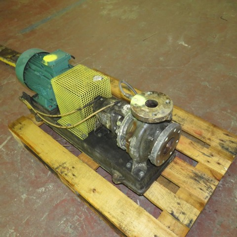 R10VA1291 Stainless steel SALMSON centrigual pump - Hp12 - Rpm3000