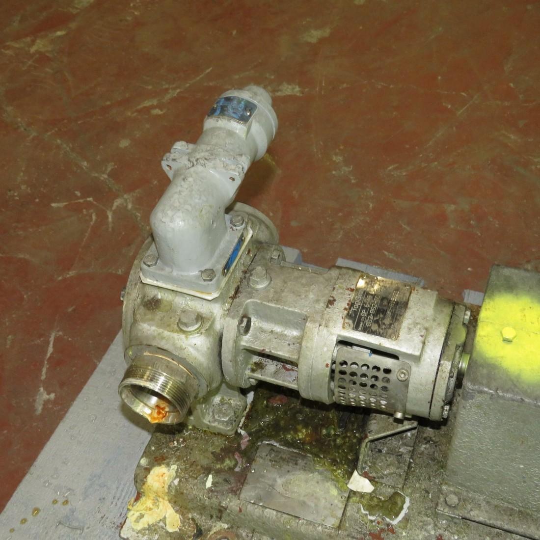 R10DE847 TOPGEAR Gear wheel pump - Hp0.75 - Rpm132