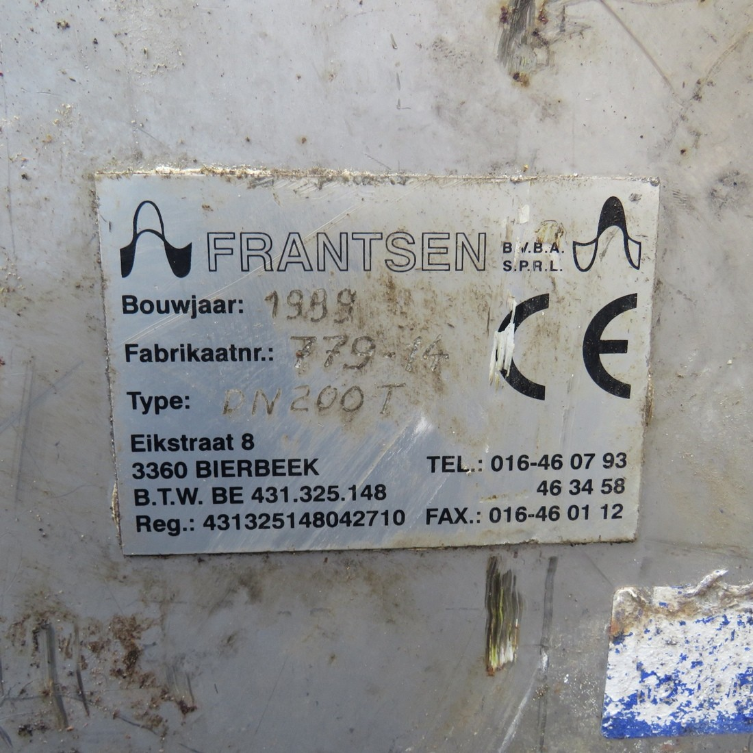 R4S1091 Stainless steel FRANTSEN screw - Ø250X5400 mm