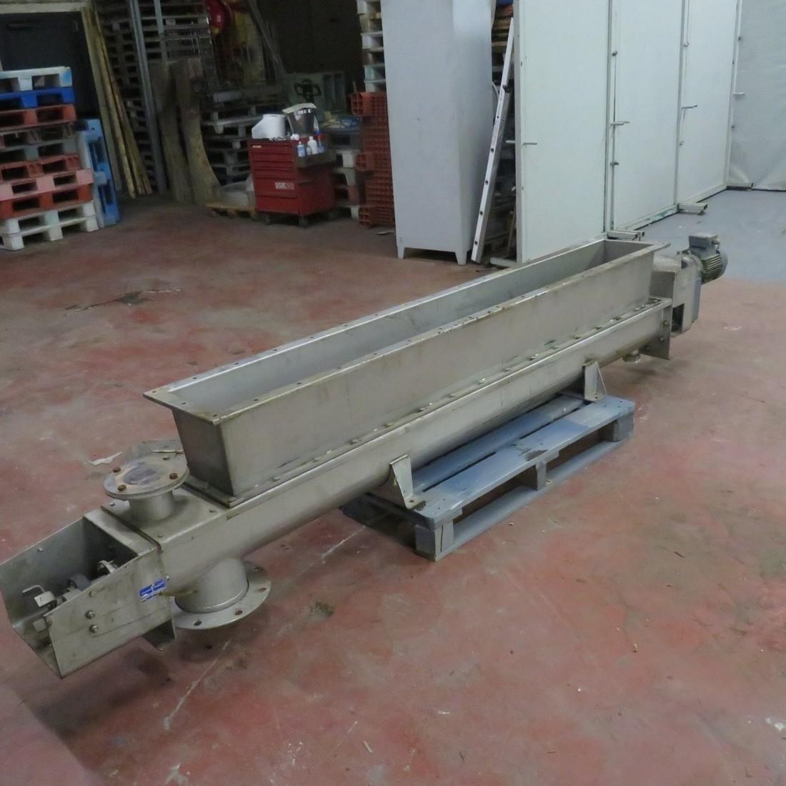 R4S1092 Stainless steel FRANTSEN screw - Ø200X2400 mm