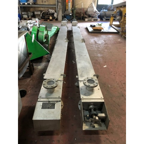 R4S1093 Stainless steel FRANTSEN screw - Ø200X5000 mm