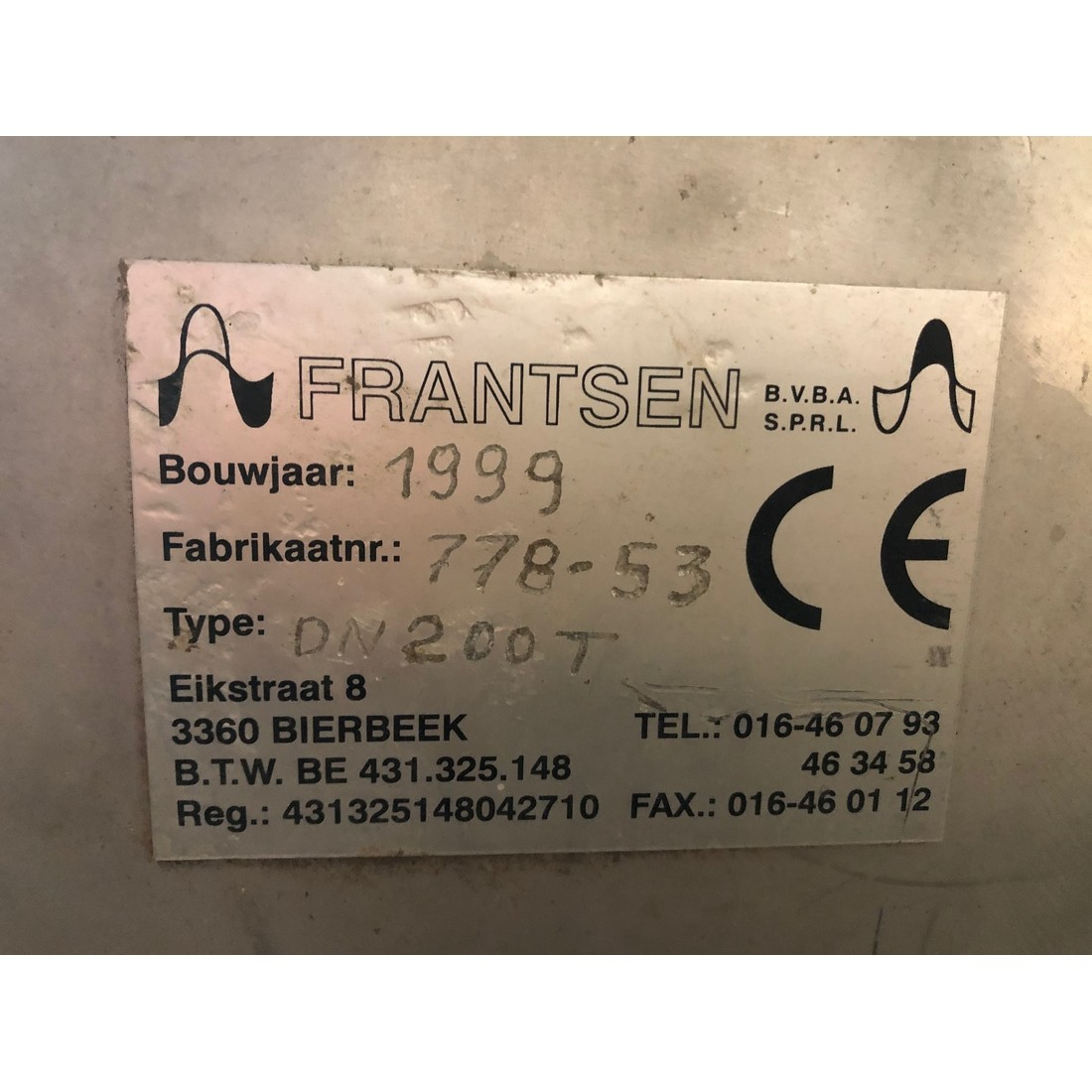 R4S1093 Stainless steel FRANTSEN screw - Ø200X5000 mm