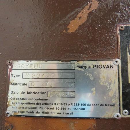 R6BE890 PIOVAN Blade mill - R 20/30 Type - Hp5.5
